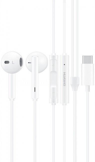 USB-typ C HUAWEI słuchawki CM33 białe MUST HAVE