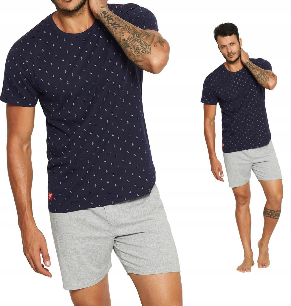 HENDERSON piżama męska RIVER k/r 37850 *M* 59x