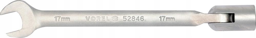 Klucz płasko-nasadowy przegubowy 8mm 52840 Vorel