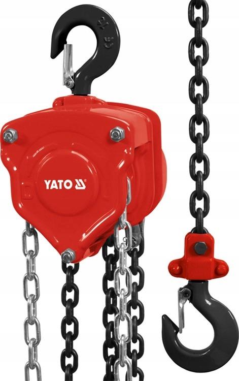 WCIĄGNIK ŁAŃCUCHOWY 5,0 T YT-58955 YATO