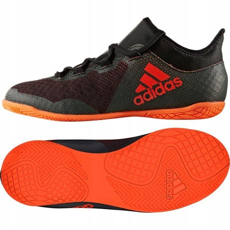 Buty piłkarskie adidas X Tango 17.3 In Jr CG3724 czarny