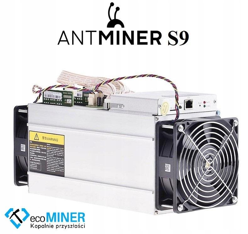 ANTMINER S9 14TH/s + ZASILACZ Instrukcja PL