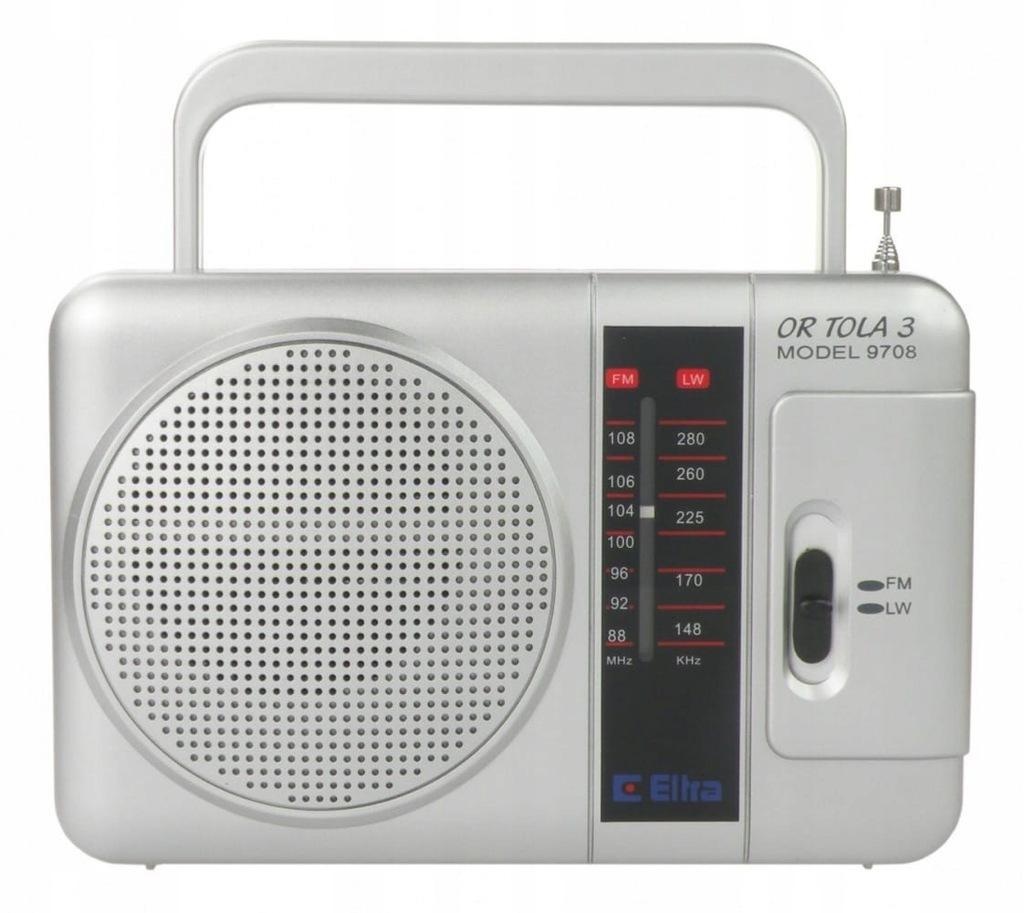 Eltra Radio TOLA Srebrny