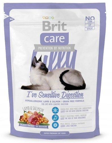 Brit Care Cat New Lilly I've Sensitive Digesti