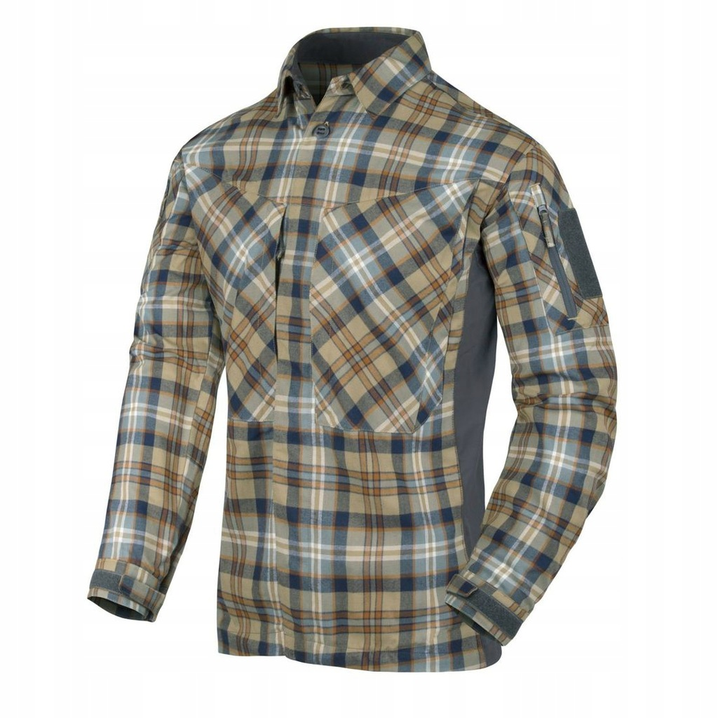Koszula Helikon-Tex MBDU Flannel Ginger Plaid M