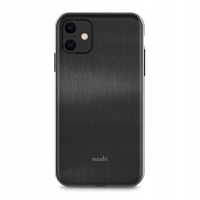 Moshi iGlaze - Etui iPhone 11 (Armour Black)
