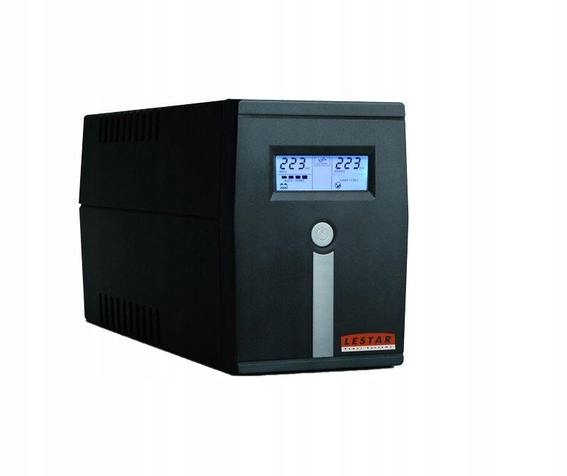 Zasilacz awaryjny UPS MCL-855FFU AVR LCD 2xFR USB