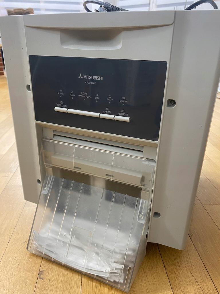 drukarka MITSUBISHI CP9810DW - uszkodzona