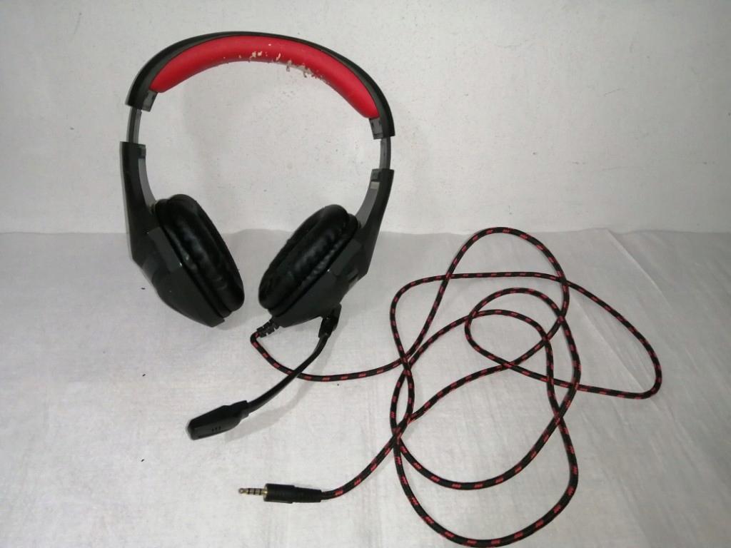 Słuchawki z mikrofonem gamer
