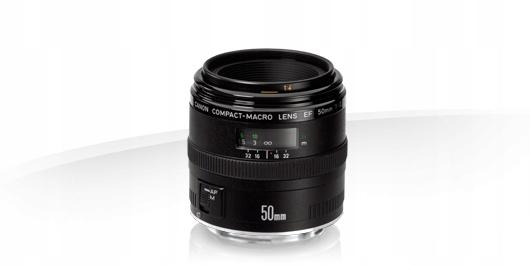 CANON EF 50mm f/2.5 Compact Macro 1:1 + UV # FV