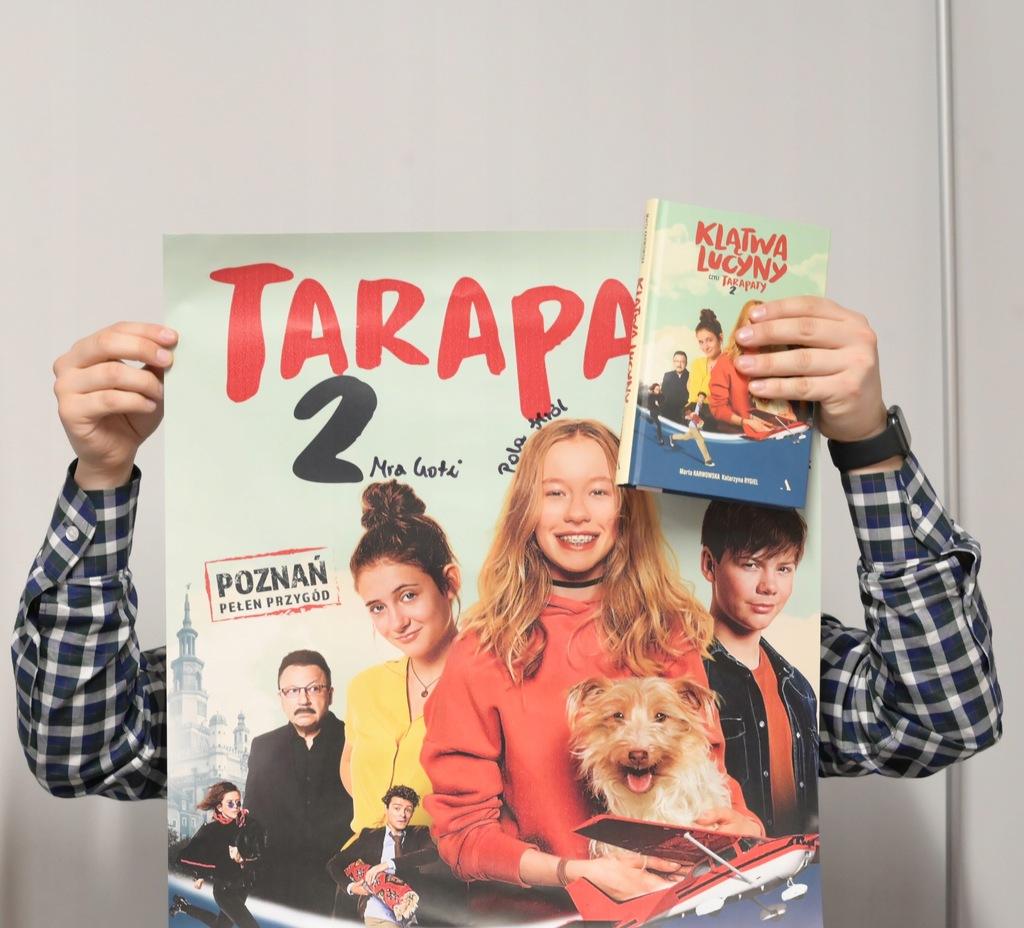 Tarapaty 2 unikalny zestaw z autografami aktorów