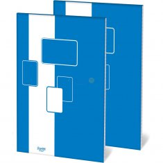 Blok biurowy Bantex A4 kratka 100 kartek budget 4s