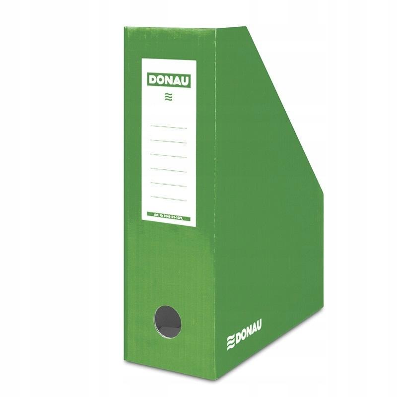 Pojemnik na dokumenty karton A4/100mm zielony