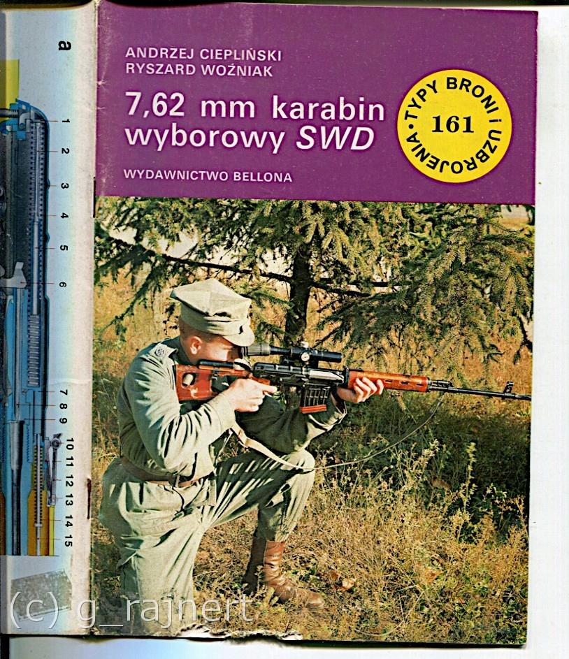 TBU TBiU 161 7.62mm karabin wyborowy SWD