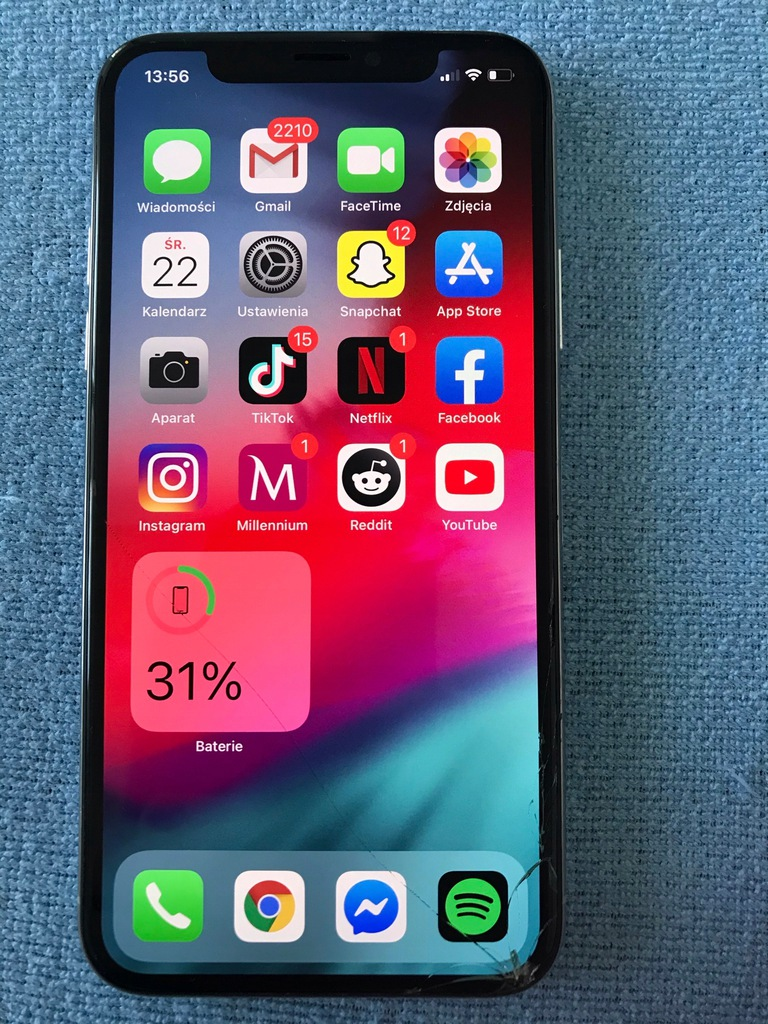 iPhone X 64gb Bez Blokad