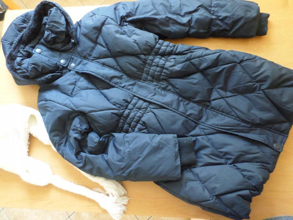 NAME IT kurtka zimowa puch i pierze płaszcz 140