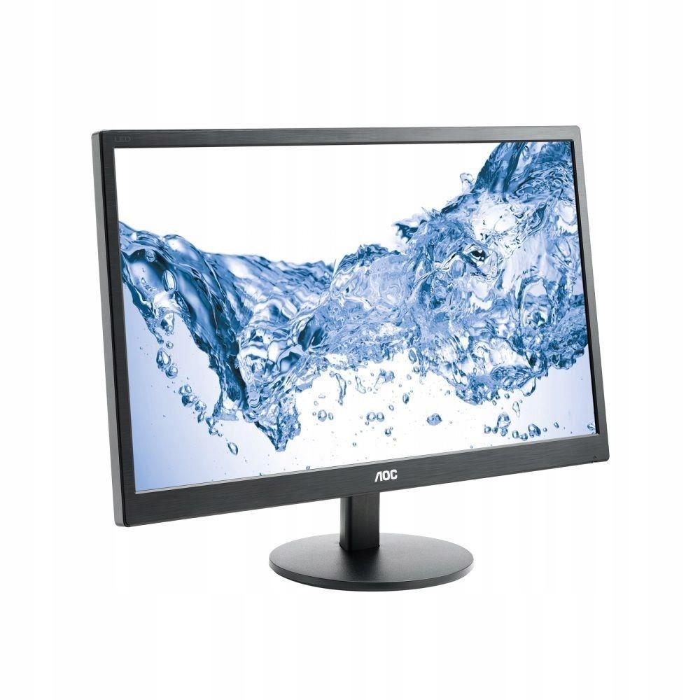 "Monitor AOC 23,6"" E2470SWH VGA DVI HDMI głośn"