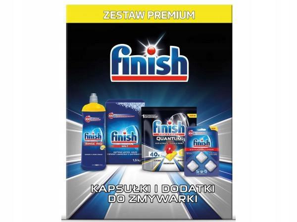 FINISH Zestaw startowy do zmywarki FINISH Ultimate