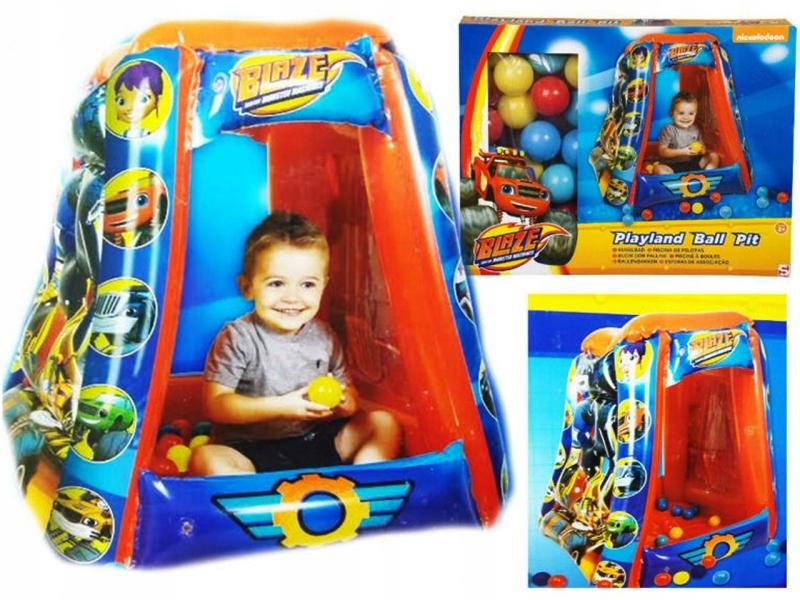 Blaze Disney Namiot Dmuchany Z Kulkami 7639274583