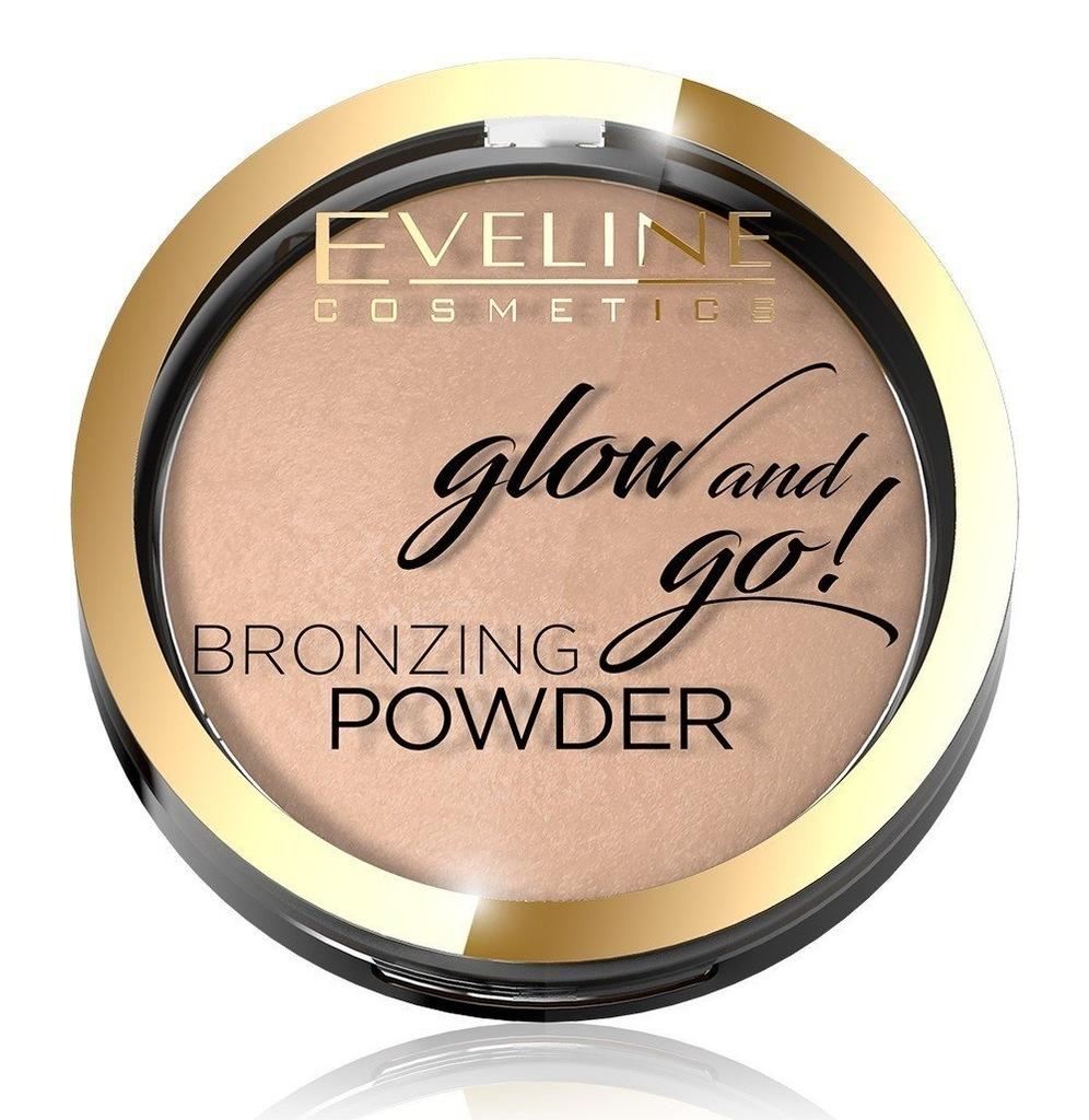 Eveline Glow & Go Bronzer wypiekany nr 01 Go H