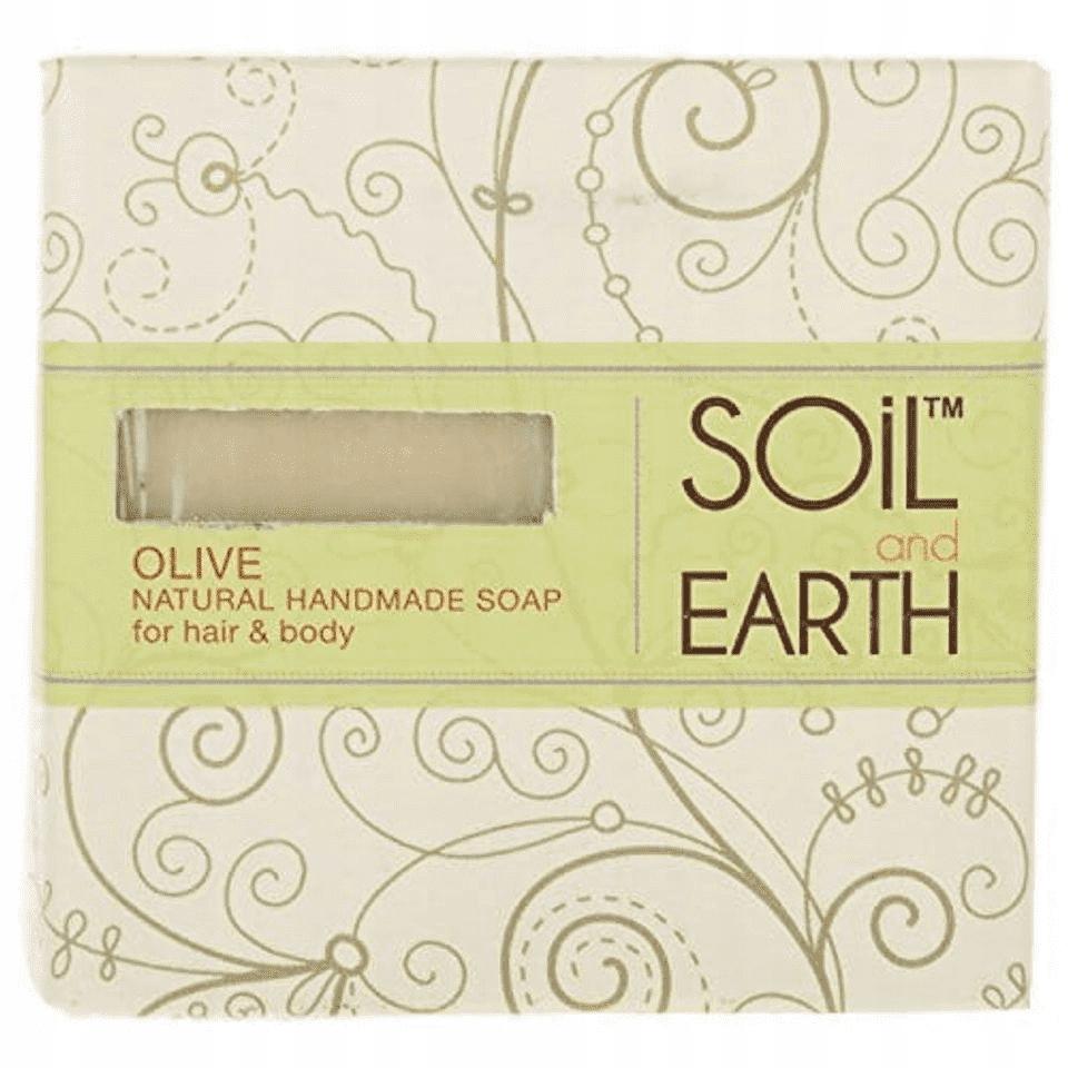 SOIL EARTH Naturalne mydło oliwkowe do ciała 0072