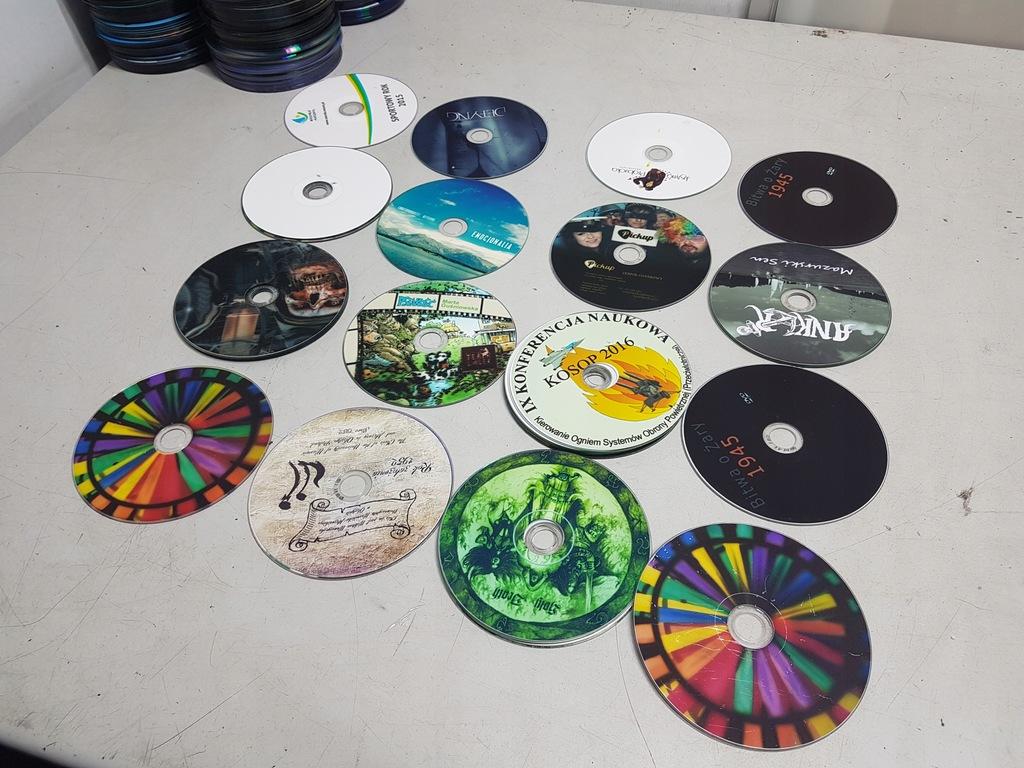 PŁYTY DVD zestaw 5 kompletów NADRUKI F-VAT TANIO!