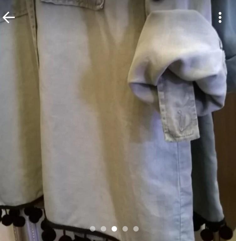 Koszula Zara styl wojskowy 7300328950 oficjalne archiwum  TEq6z