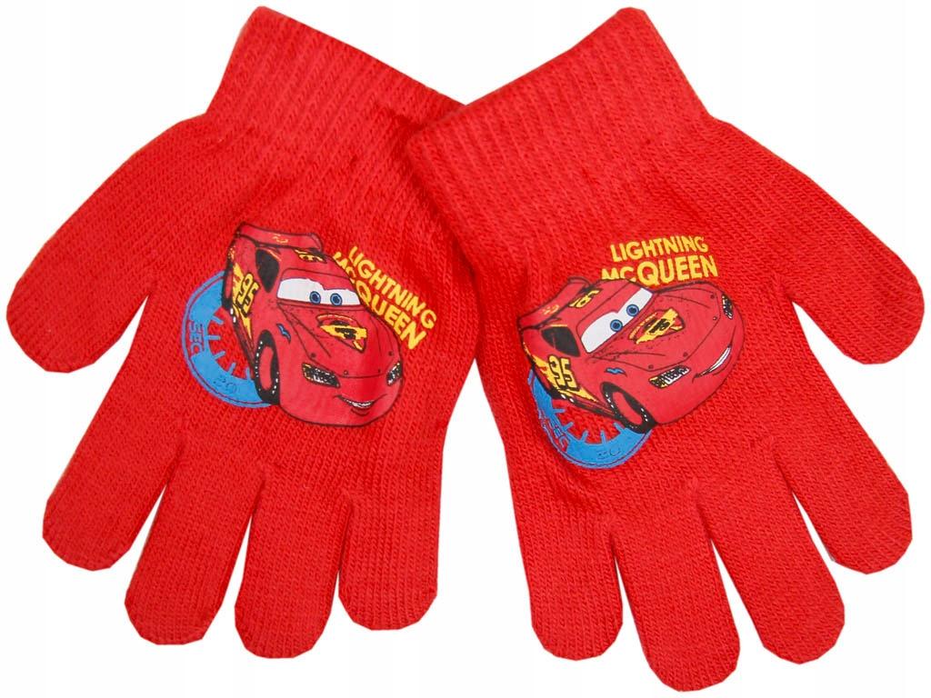 Cars, Auta- czerwone rękawiczki dla chłopca