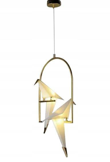 Lampa wisząca LORO 2 UP złota - LED