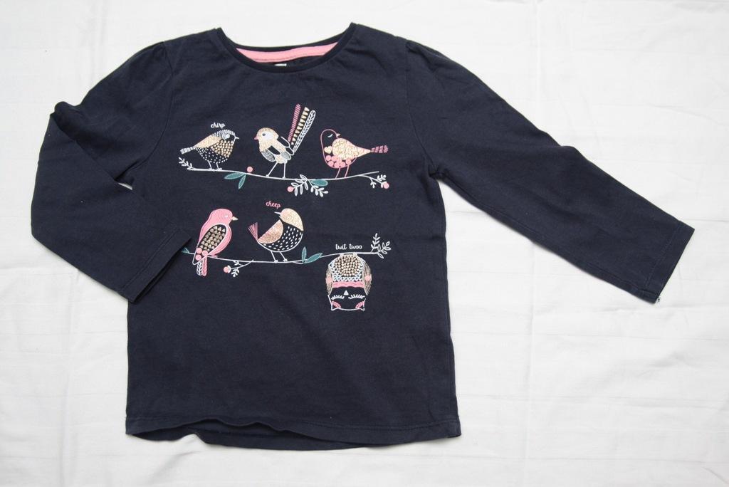 Bluzka koszulka granatowa F&F r.98