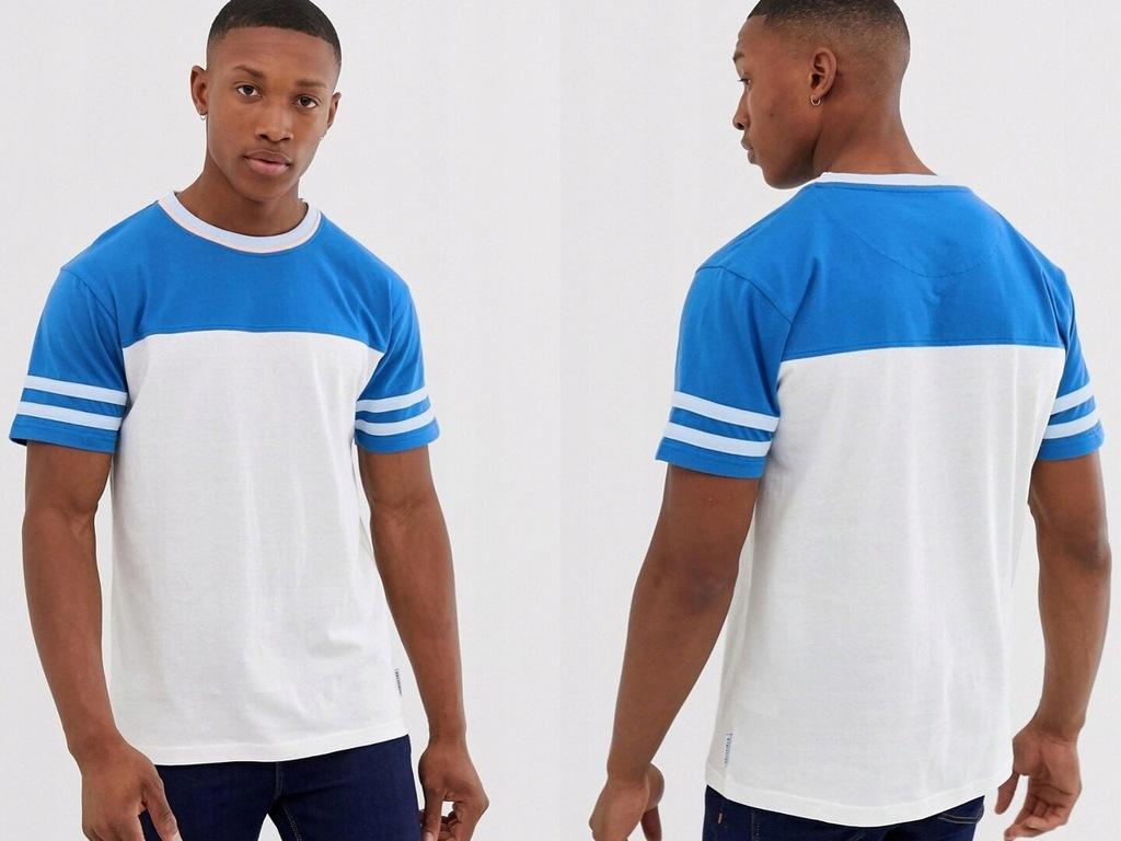 Bellfield T-shirt męski krótki rękaw L