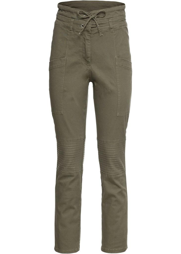 B421 BPC Spodnie z wysokim stanem r.46 pas;102-110