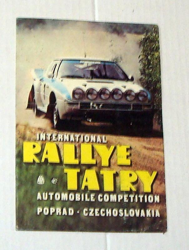 International Rally Tatry - stara nalepka .