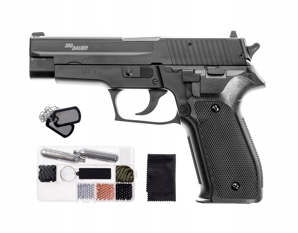 Wiatrówka Pistolet Sig Sauer P226 4,5 mm ZESTAW