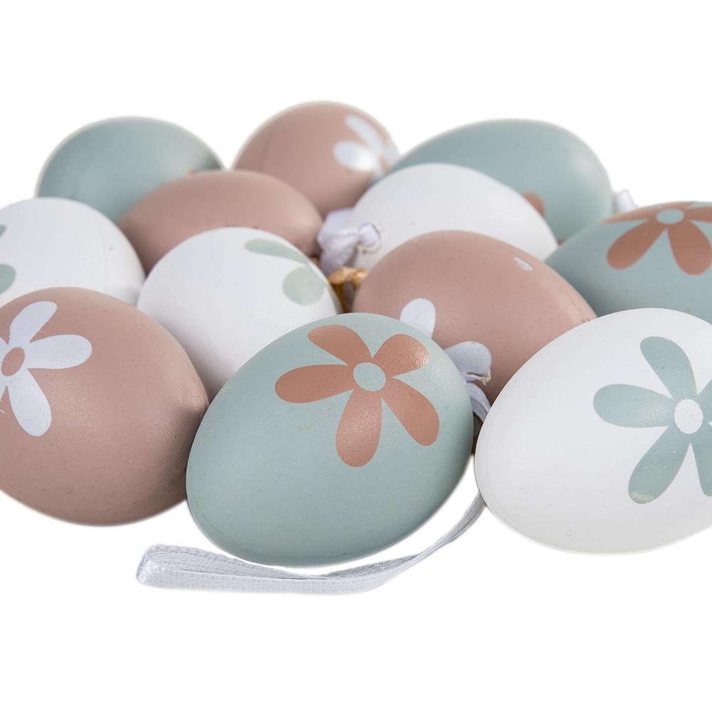 Jajka Wiszace Jajko Wielkanocne Mix Pastel 12szt 9022097208 Oficjalne Archiwum Allegro