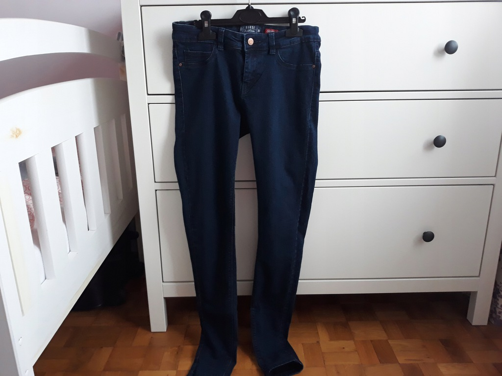Spodnie jeansy House 36 S rurki skinny j.nowe