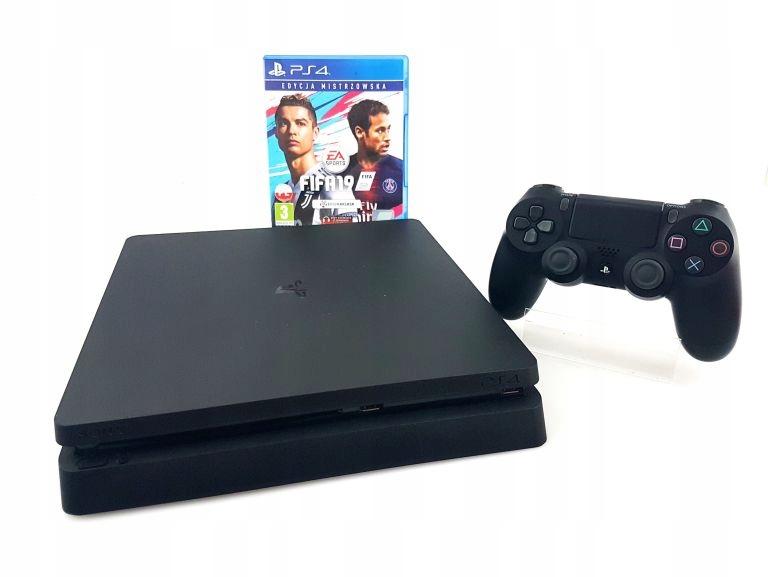KONSOLA SONY PLAYSTATION 4 SLIM 1TB PAD FIFA19