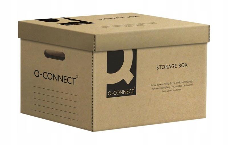 Pudło archiwizacyjne Q-CONNECT, karton, zbiorcze,