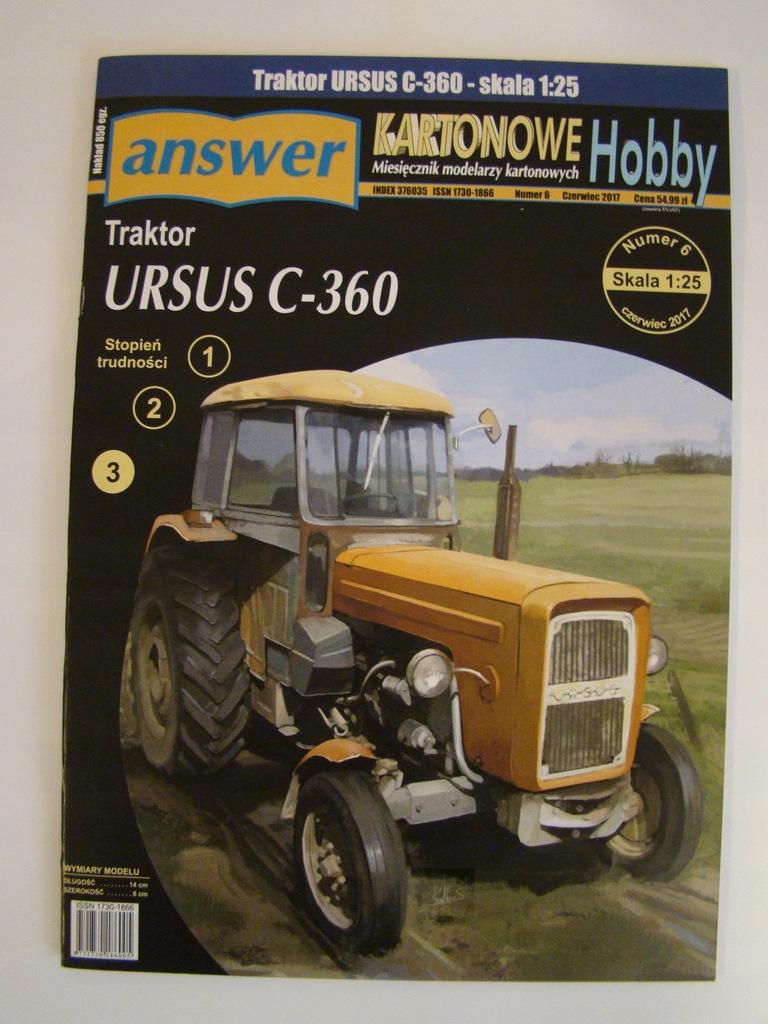 Traktor Ursus C 360 Kosiarka Rotacyjna 1 25 Answer 9360717921 Oficjalne Archiwum Allegro