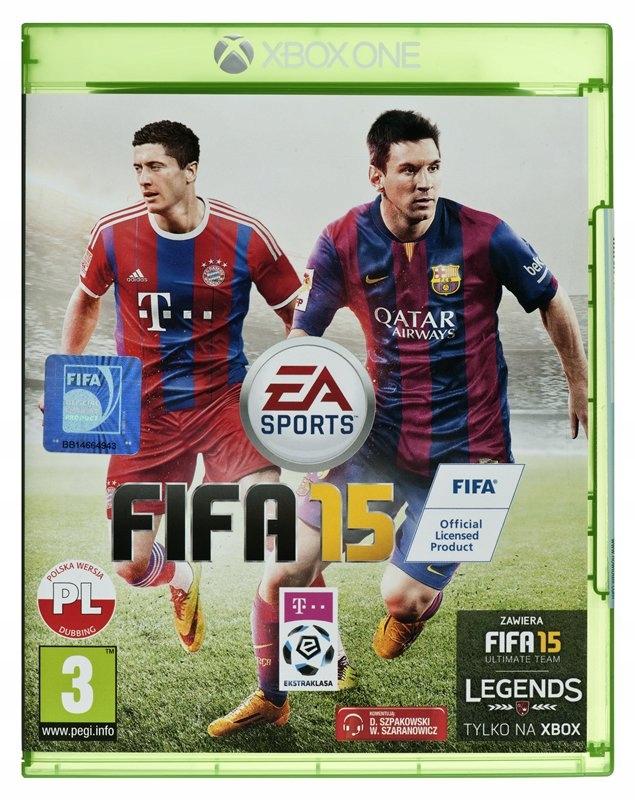 Fifa 15 Xbox One Polski Komentator Nowa Folia 9545710185 Oficjalne Archiwum Allegro