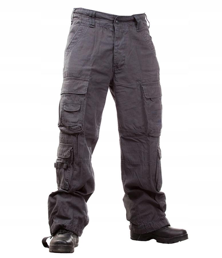 Spodnie BRANDIT Pure Vintage Anthracite XL