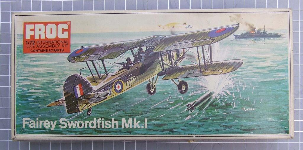 Swordfish Mk.I FROGF258 1/72na kołach i pływakach