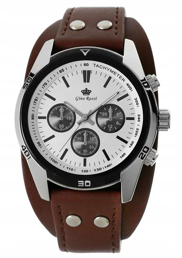 Zegarek Męski GINO ROSSI 9129A-3B1 Gino Rossi