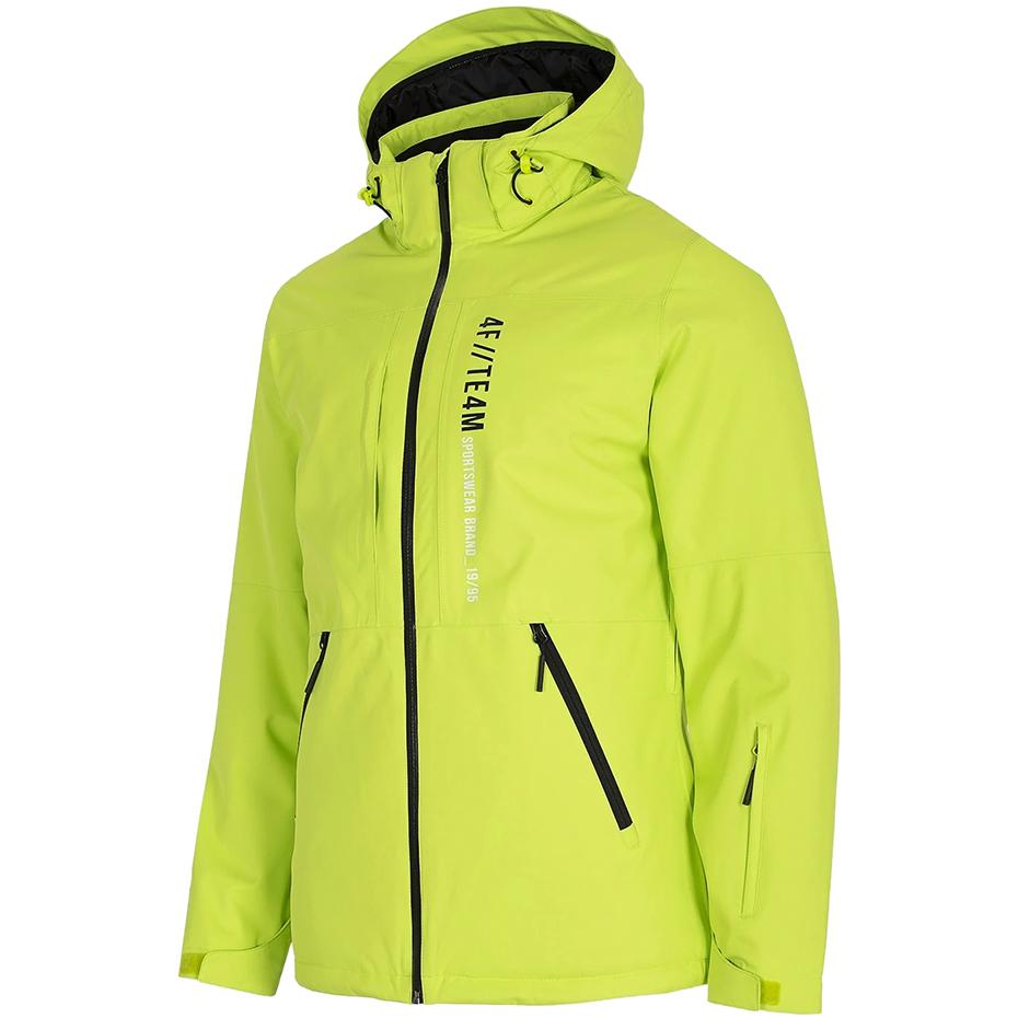 Kurtka narciarska męska 4F soczysta zieleń H4Z20 K