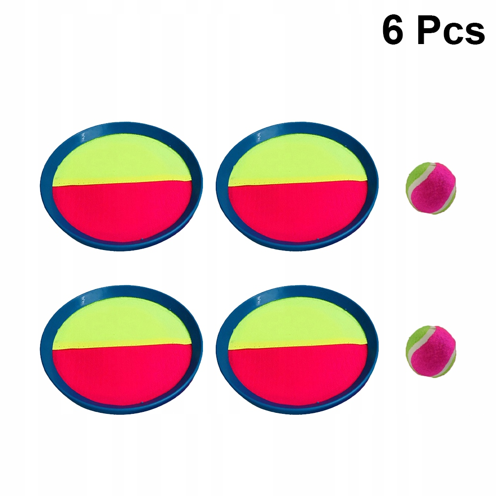 6 sztuk Sticky Cricket Toy Sucker Ball Game Toy St