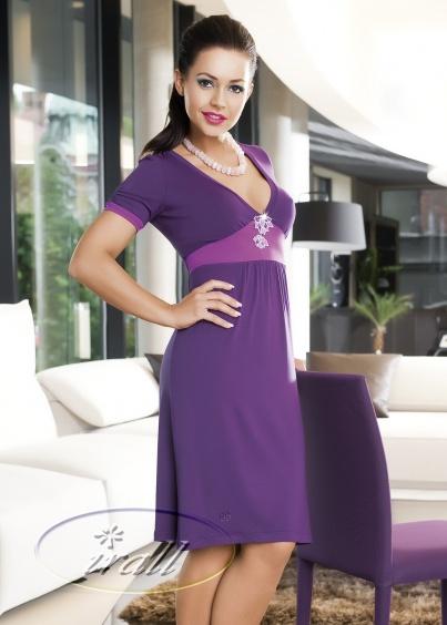 Irall Koszulka Nocna Model Lilou II Violet Ceny i opinie