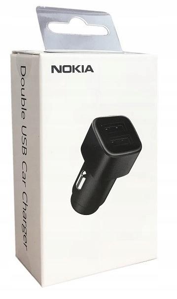 Ładowarka Nokia Samochodowa DC-301 2 x USB 3.4A