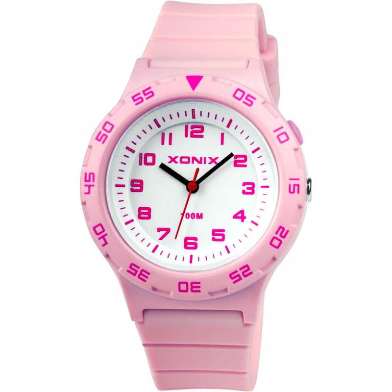 Zegarek dziecięcy XONIX z podświetleniem - różowy
