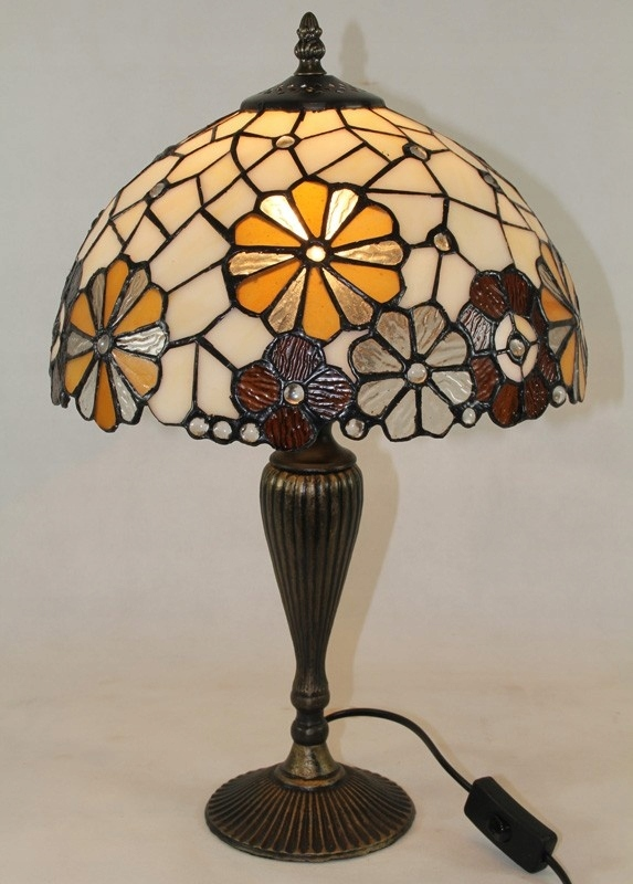 lampy ozdobne witrażowe allegro