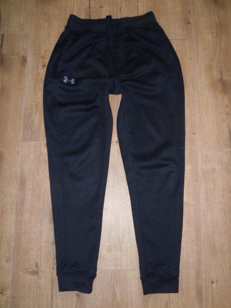 UNDER ARMOUR dresowe spodnie r.S bawełna